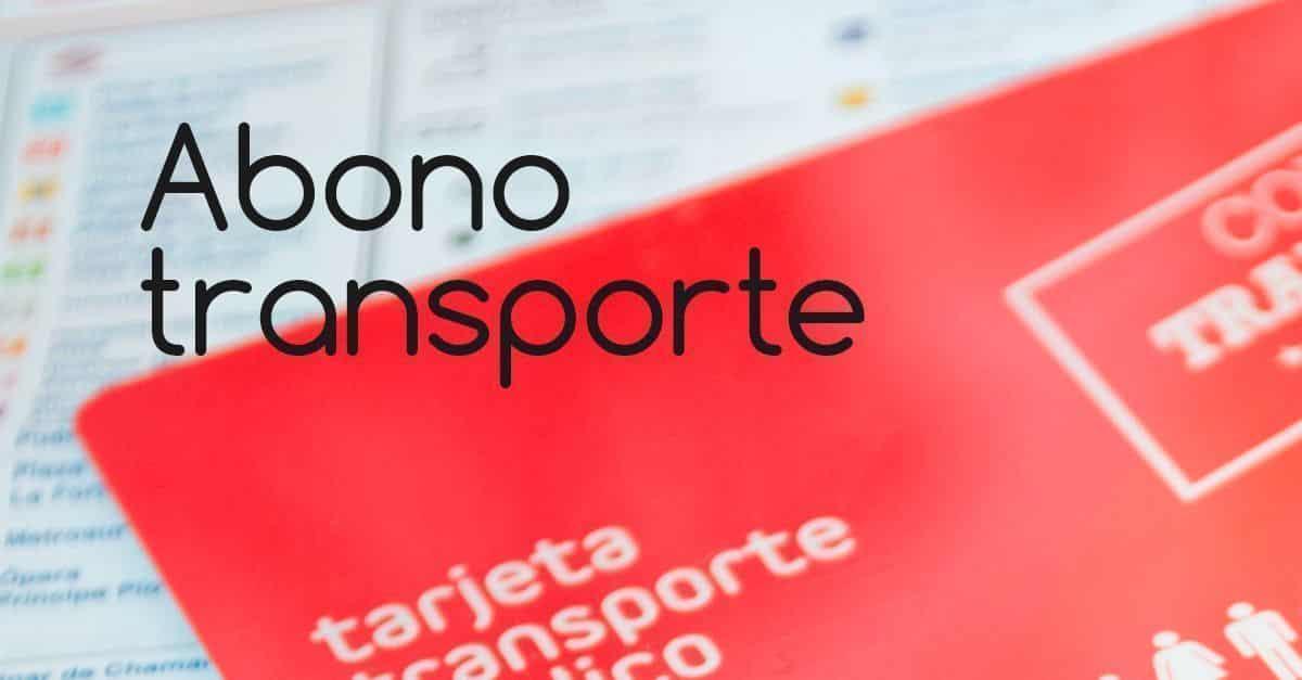 abono transporte