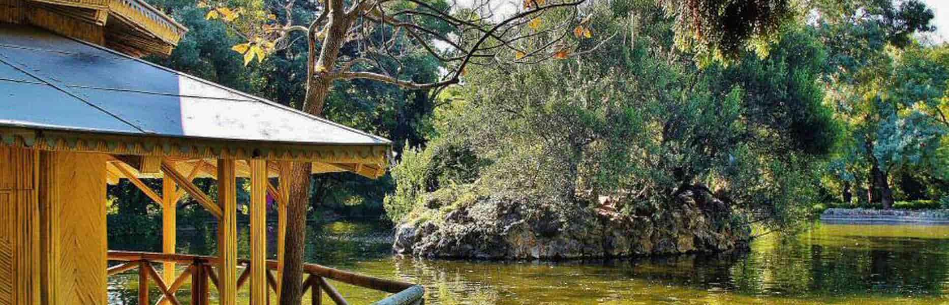 parques poco concurridos madrid