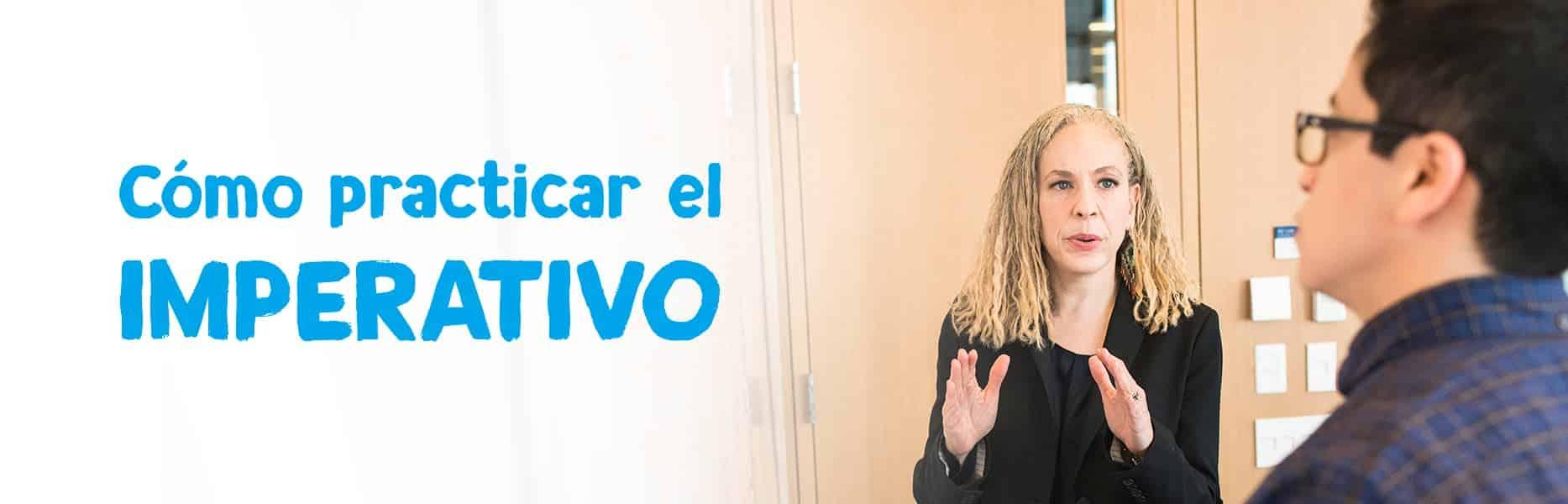 practicar imperativo español